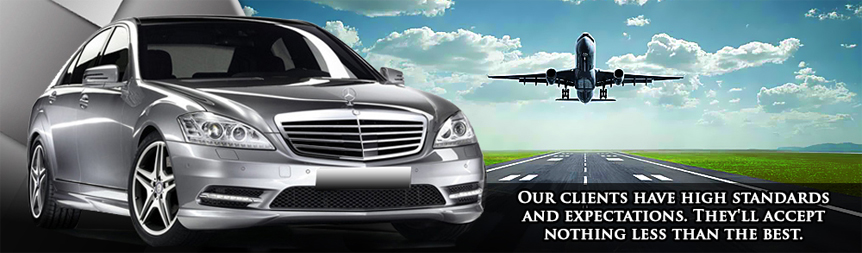 Chauffeur driven airport transfer service to and from Tunbridge Wells, Kent